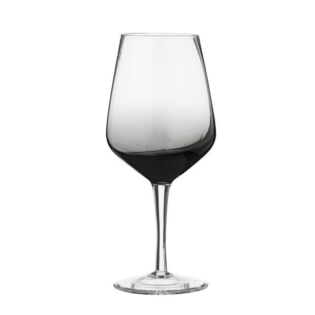 Vínový pohár s kouřovým efektem, průměr 6,5 cm, výška 21,5 cm, 18 €/1 ks, www.bloomingville.com