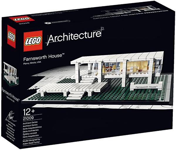 Stavebnice LEGO Architecture Farnsworth House, 1 399 Kč