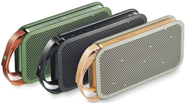 Přehrávač BeoPlay A2, Bang & Olufsen, designově odkazující kretro tranzistorům, ale nabízející nesrovnatelně lepší zvuk, 3 barevná provedení, prodává KD Elektro, 9 772 Kč