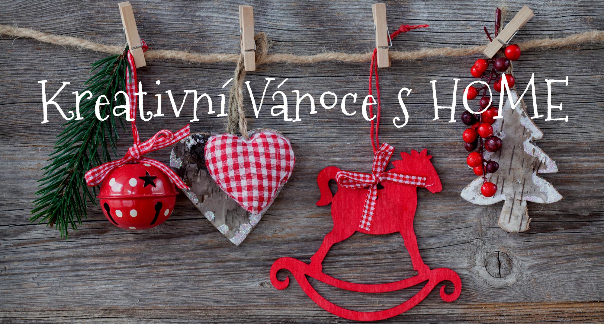 SOUTĚŽ: Kreativní Vánoce s HOME