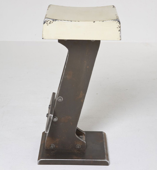 Stolička Bar Stool Key White, MDF 100%, Kare, 4 970 Kč