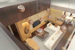 Namísto stísněného a tmavého obývacího pokoje velkolepý prostor s množstvím světla