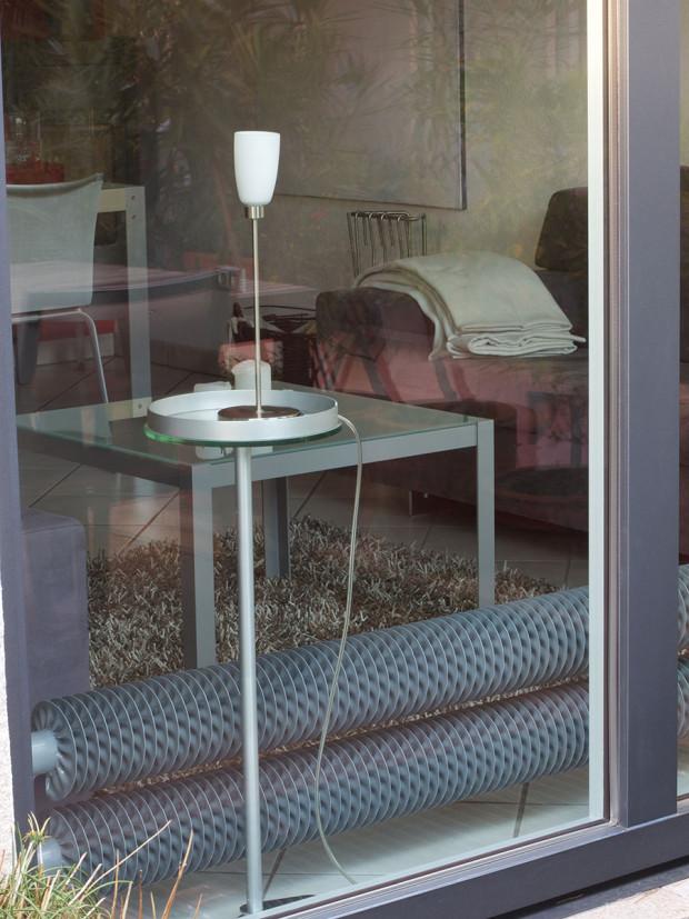 Designový radiátor Spiralix double ze dvou nad sebou spojených ocelových vinutých trubek, Laurens, cena na vyžádání