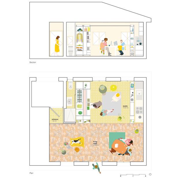 Jeden interiér, mnoho funkcí
