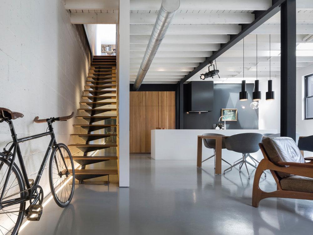 Moderní městský dům pro pánskou společnost