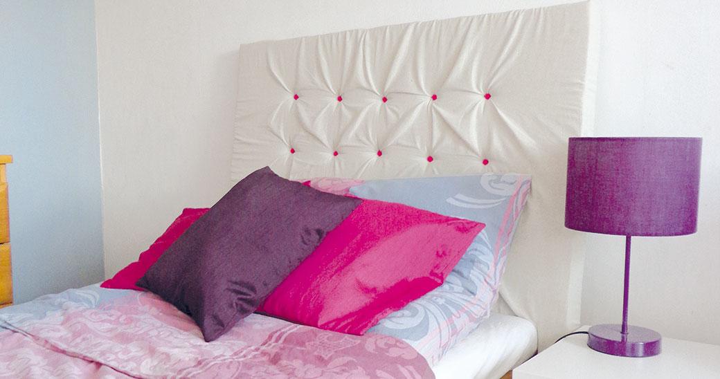 Vyrobte si originální čelo postele