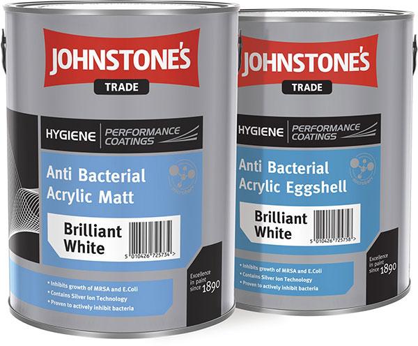 Pro prevenci vzniku plísní můžete stěny opatřit speciálním nátěrem založeným na technologii stříbrných iontů, například Johnstone´s Microbarr. (foto: archiv)