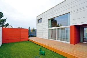 Dům jako dřevěná skládačka