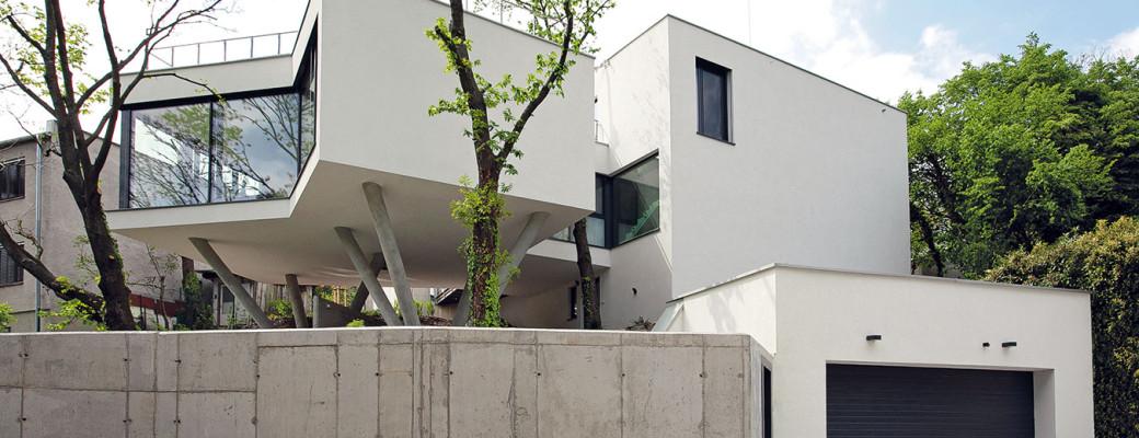 Unikátní dům, který kličkuje mezi stromy