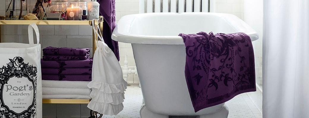 Koupelna ve stylu vintage