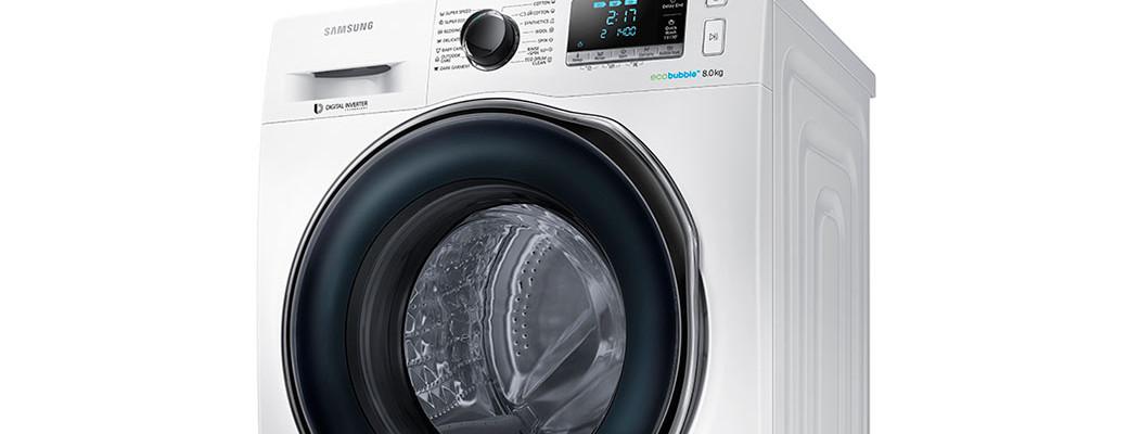 Nové pračky Samsung prádlo vyperou šetrně, rychle a dokonale