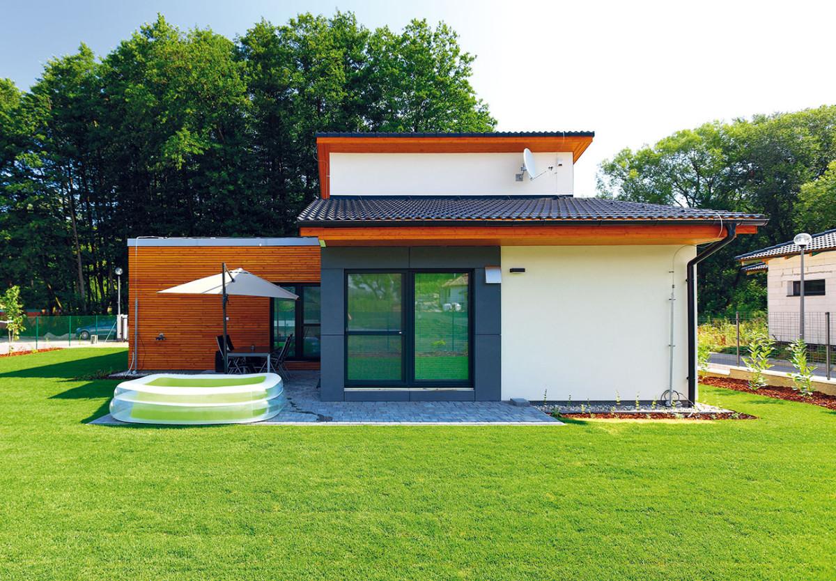 Montovaný dům, v němž se dobře dýchá