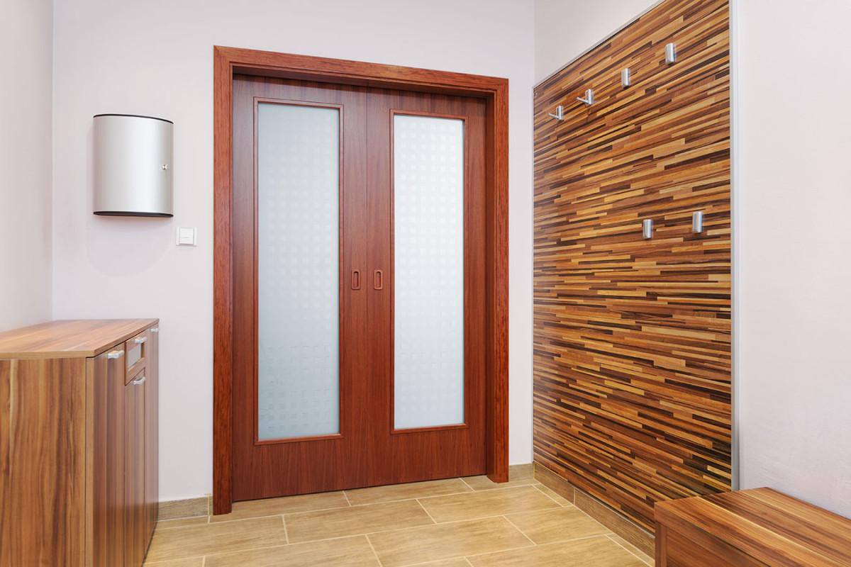 Stavební pouzdro pro dvoukřídlé dveře Norma Komfort. FOTO J.A.P.