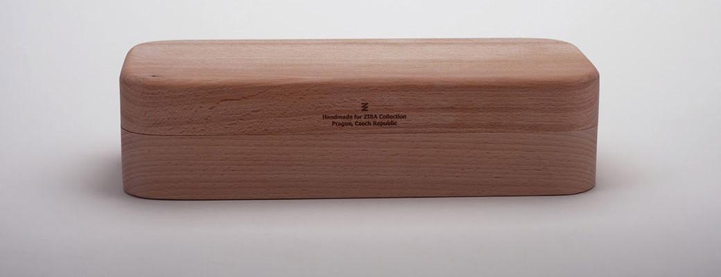 Skleněné japonské jídelní hůlky made by Jitka Kamencová Skuhravá