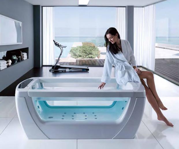 Relaxační a léčivý efekt vodní masáže je založen na prohřátí těla, rozšíření cév, zvýšení průtoku krve, zrychlení metabolizmu a vyplavovaní škodlivin. Následně se urychluje regenerace buněk. Tohoto efektu se v hydromasážní vaně dosáhne pomocí trysek, přes které proudí voda nebo vzduc