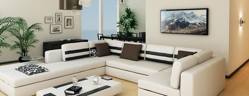 Sálavé panely efektivně topí a navíc jsou ozdobou interiéru