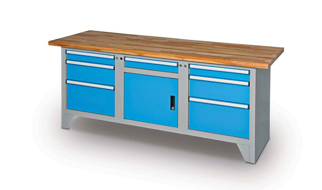 Víme, kde pořídit kvalitní dílenský nábytek!
