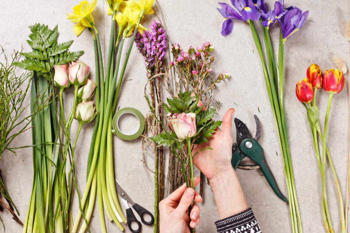 dekroace - květiny