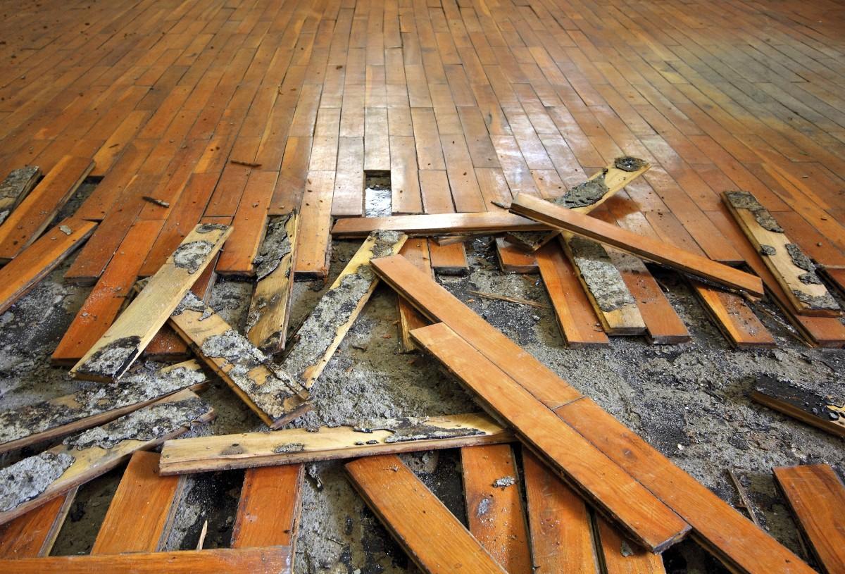 rekonstrukce bytu - podlaha