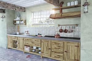 rustikální kuchyně - HOME