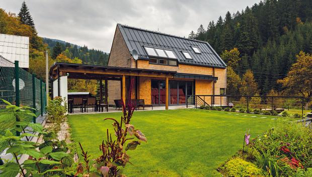 Dům v romantické dolině Javorníků ctí zásady skandinávské architektury