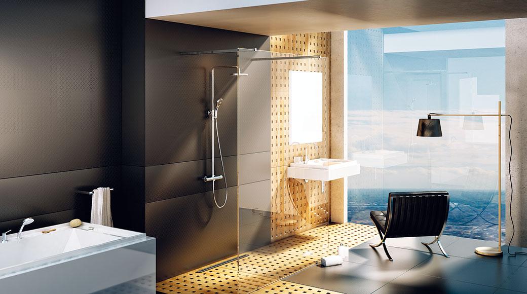 5 elementů současné koupelny