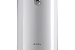 Klasický kulatý zásobníkový ohřívač Ariston Pro R s regulací teploty pomocí otočného termostatu. V nabídce je v 5 velikostech od 50 do 160 l. foto: Ariston Thermo CZ foto: Ariston Thermo CZ
