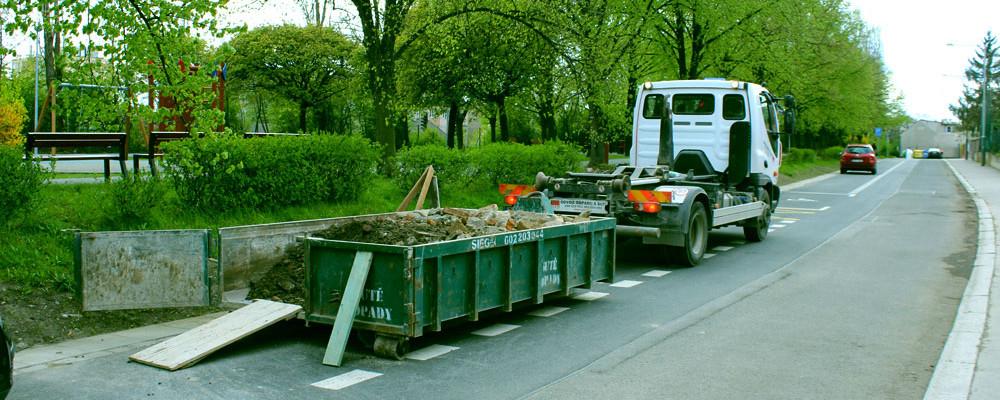 Jak vyřešit problém s odvozem a likvidací většího množství odpadu a stavební suti?