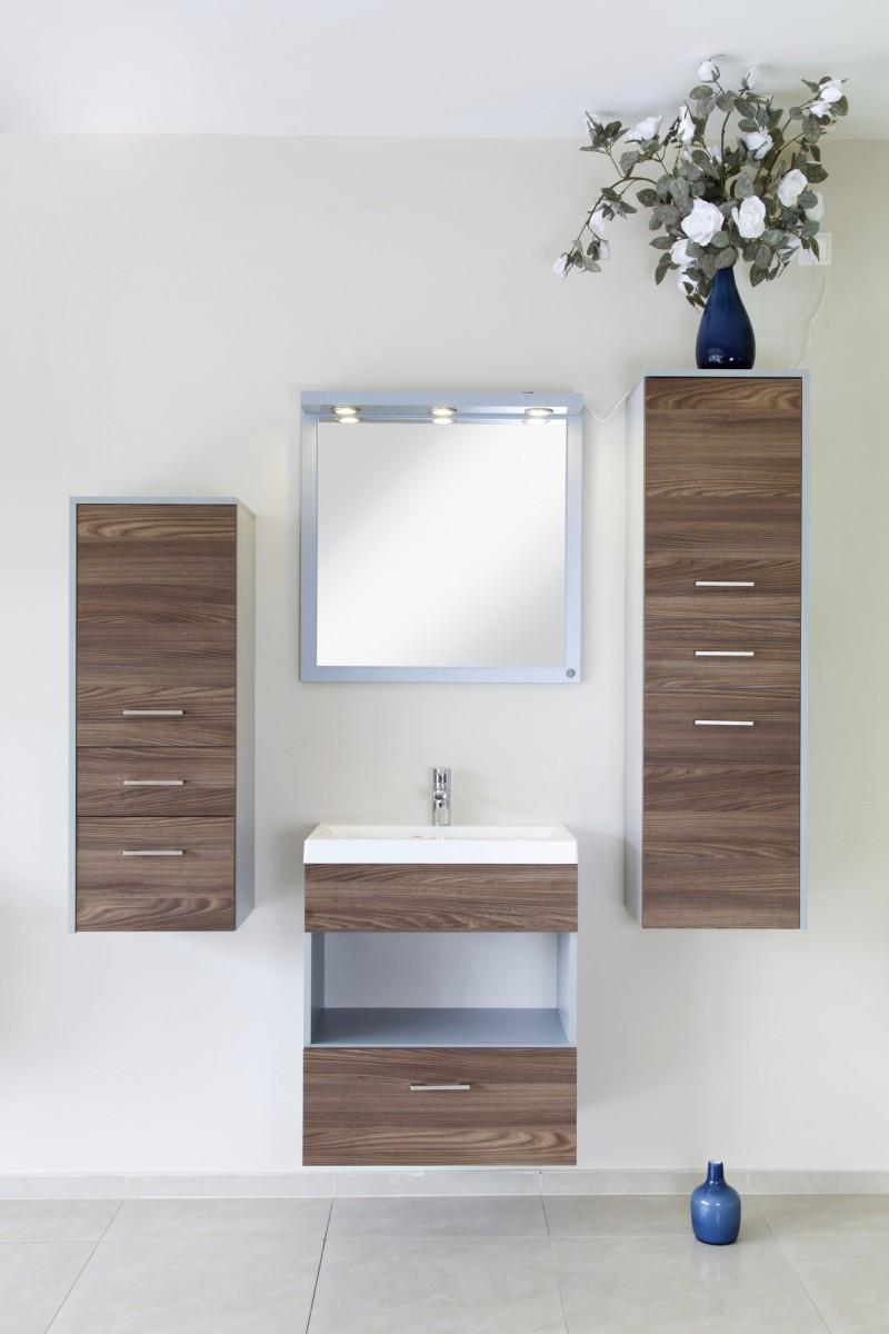 Moderní skříňky do koupelny