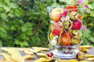 Dekorace na podzim