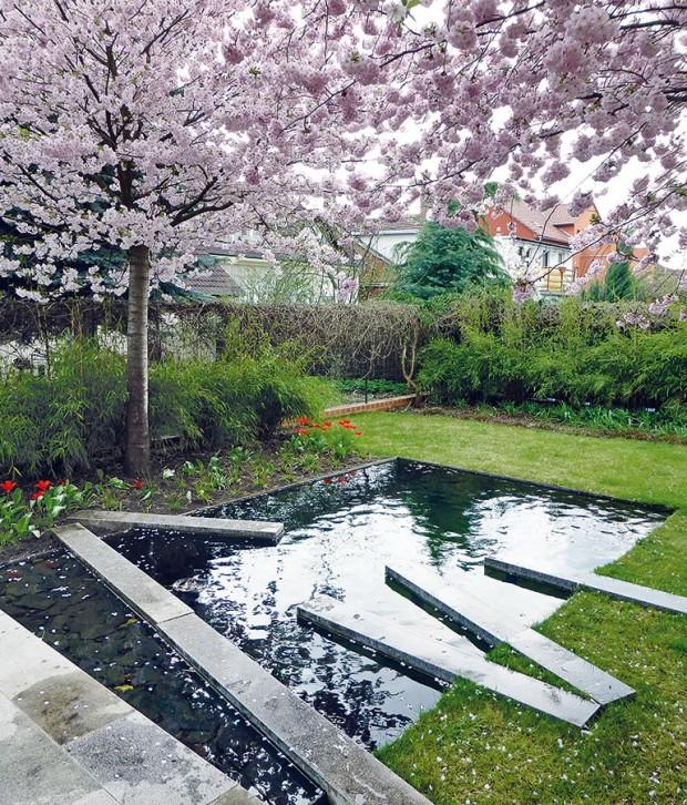 Trnkova zahrada od Evy Wagnerové získala vroce 2012 druhou cenu vmezinárodní vsoutěži Nejlepší soukromá zahrada. foto: archiv redakce