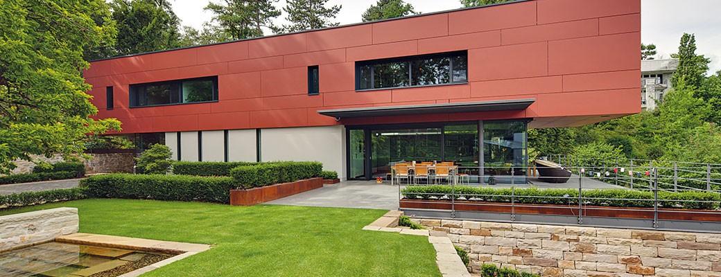 Architektura domu se podřídila působivému výhledu