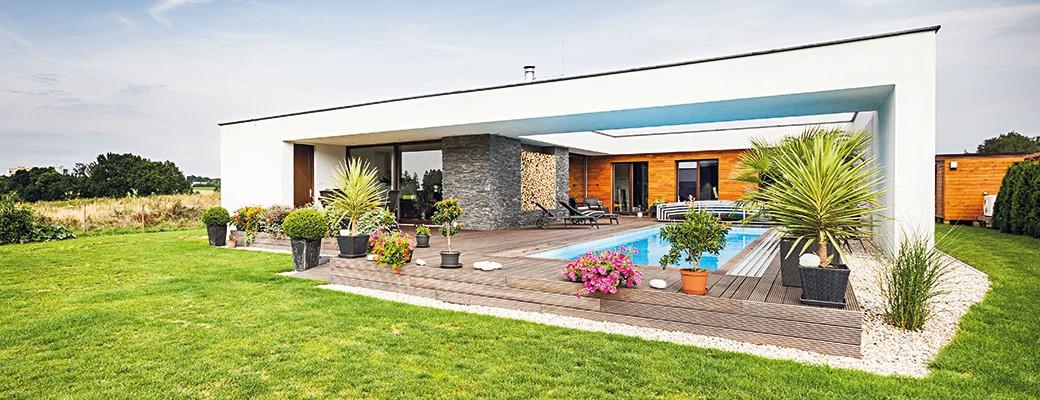 Energeticky úsporný bungalov pro rodinu se dvěma dětmi
