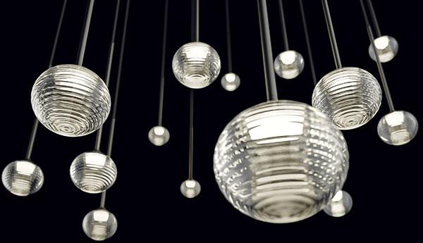 Preciosa Lighting už dávno není jen výrobce křišťálových lustrů. Na Euroluce 2015 představili inovinku jménem Ridge Stone - KUF od designérského dua Vacek & Šmíd.