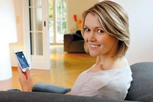 Ovládejte dveře pomocí chytrého telefonu a tabletu