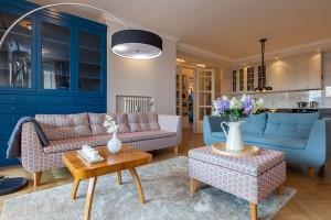 Romantický byt v domě z padesátych let