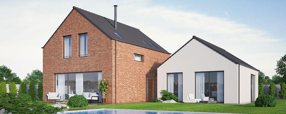 Kvalitně vyřešený dům pro dvougenerační bydlení
