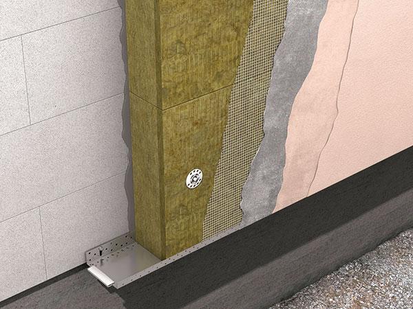 Zateplovací fasádní systém ECOROCK FF je uceleným řešením, jehož
