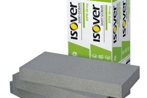 Izolační desky Isover EPS Grey 100 jsou grafitovým izolantem nové generace se zvýšeným izolačním účinkem. Jsou určeny především pro profesionální zateplení podlah apodobné využití, kdy je požadována vysoká pevnost vtlaku, nejčastěji pro energeticky úsporné domy (nízkoenergetické apasivní stavby), ataké všude tam, kde je nedostatek místa pro izolace tradiční, např. pro rekonstrukce podlah, tepelné izolace lodžií nad vytápěnými prostory apro jiné aplikace. Jsou určeny pro trvalé zatížení vtlaku max. 2000 kg/m2 při deformaci