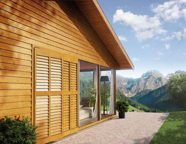 Moderní nátěrové hmoty pro dřevo jsou odolné vůči extrémním teplotám, působení slaného vzduchu apodobně. FOTO AKZO NOBEL