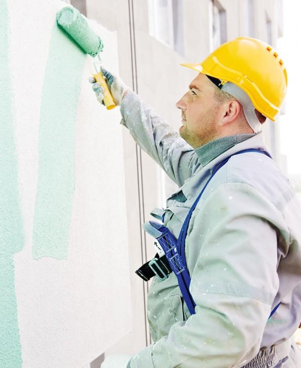 Při výběru barvy fasády je důležité přemýšlet nejen nad typem barvy, ale inad barvou samotnou – málokdo si dokáže představit, jak bude působit barva zplechovky na mnohem větší ploše. foto thinkstock.cz