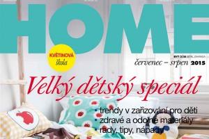 Nejnovější vydání časopisu HOME právě na stáncích