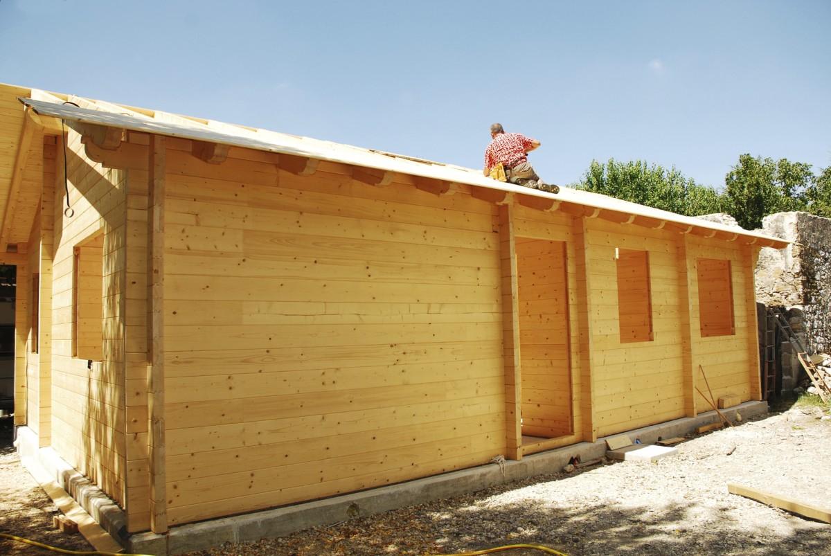 Dřevenice - montované domy