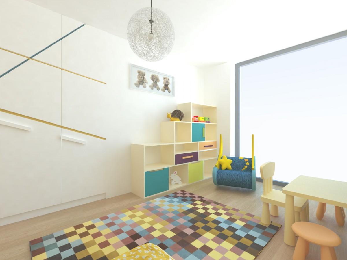 Při zařizování jednotlivých místností je potřebné zohlednit potřeby i specifické požadavky jejich obyvatelů. Dětem je třeba vytvořit dostatek prostoru na hru i úložných prostor na hračky. Vítaná jsou variabilní řešení, která rostou spolu s nimi.
