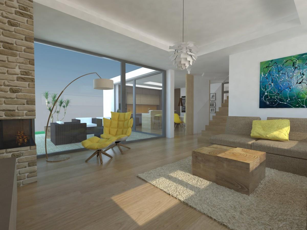 Obývací pokoj propojený s kuchyní do otevřené denní části, nebo raději každá místnost samostatně? I to je jedna z nesmírně důležitých otázek, nad nimiž je potřebné se zamyslet předtím, než se pustíte do návrhu a zařizování interiéru.