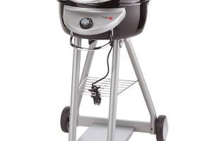 Char-Broil Bistro, Mountfield, elektrický gril s Tru-infrared, příkon 2,2 kW, hořák i grilovací rošty z litiny, zadní ohřev pro rozpékání pečiva, teploměr, 5 450 Kč