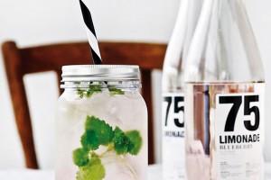 Největším hitem vpodávání nealkoholických nápojů jsou momentálně zavařovací sklenice. Skvěle korespondují strendem domácích limonád zopravdu přírodních surovin. FOTO NORDIC DAY