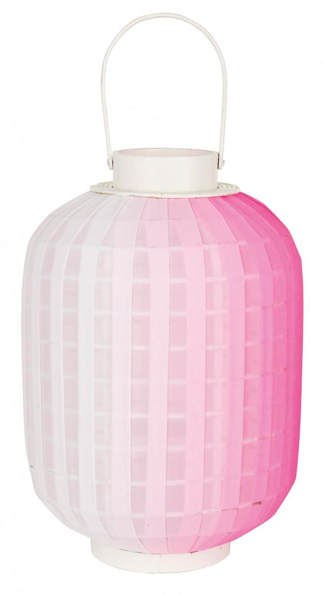Svícen Ombre od značky Lifestyle, látka, dřevo, sklo, 26 × 48 × 26 cm, více barev, www.apropos-shop.sk, 33,72 € ve slevě