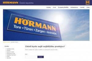 Společnost Hörmann spustila nový přehledný web, který podporují i chytré telefony