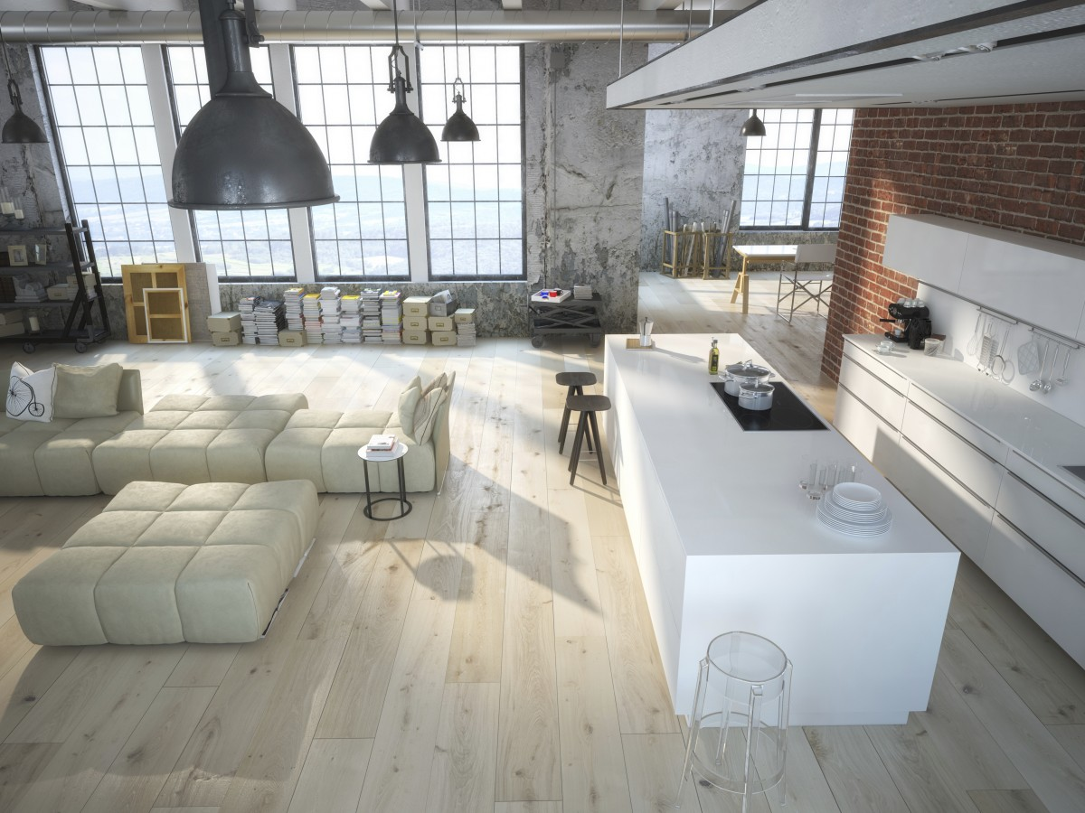 Domov v industriálním stylu